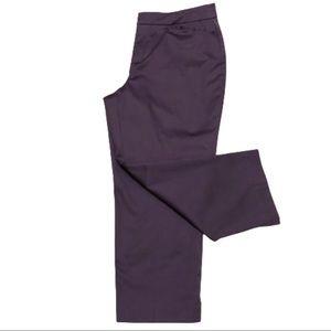 NWT Coldwater Creek Purple Cropped Leg Capri